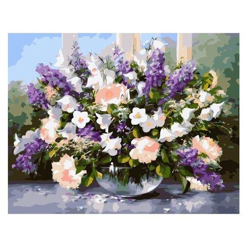 Купить Картина по номерам RADUGA VA-1675 Майский букет 40х50см, Картины по номерам и контурам