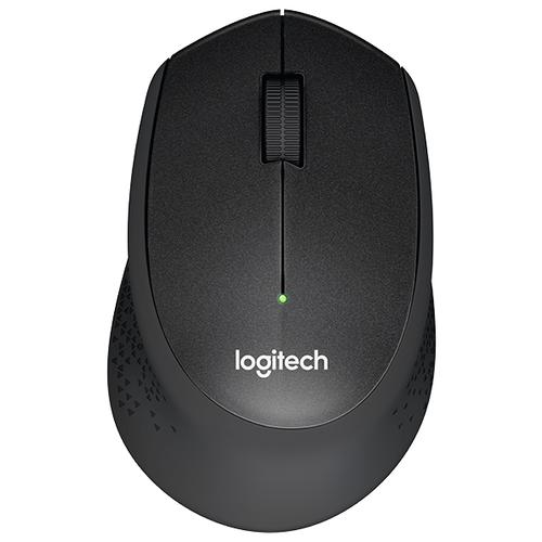 Беспроводная мышь Logitech M330 SILENT PLUS, черный