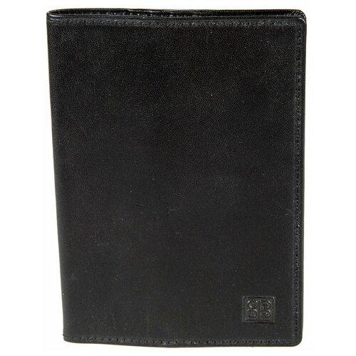 1597 milano black Обложка для паспорта Sergio Belotti