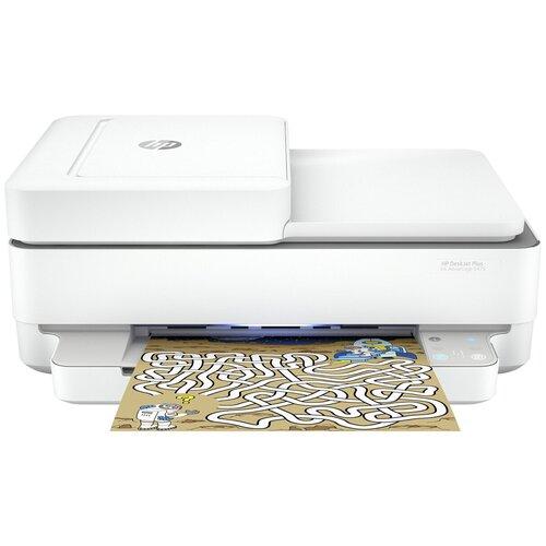 Фото - МФУ HP DeskJet Plus Ink Advantage 6475, белый мфу hp deskjet plus ink advantage 6075 белый