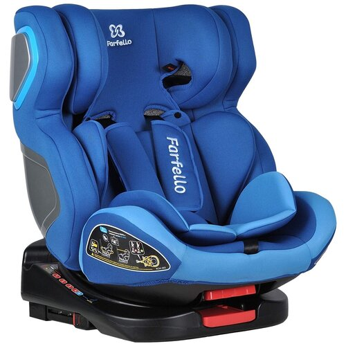 Купить Автокресло группа 0/1/2/3 (до 36 кг) Farfello GM0932, blue, Автокресла