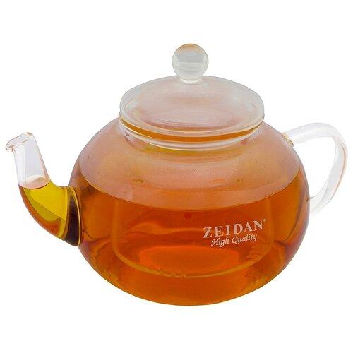 Zeidan Заварочный чайник Z-4177 0.8 л, прозрачный
