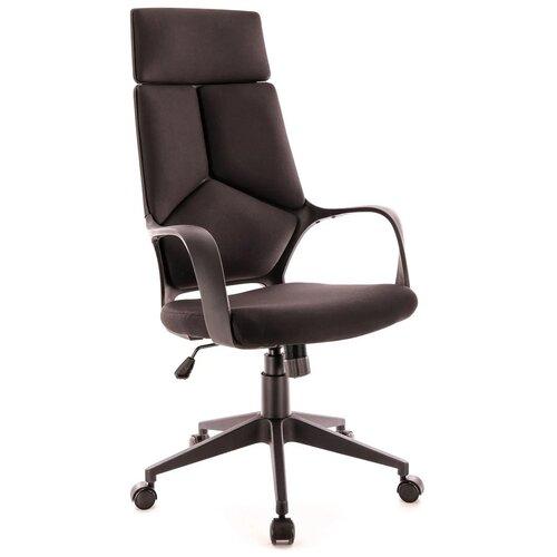 Фото - Компьютерное кресло Everprof Trio Black TM для руководителя, обивка: текстиль, цвет: черный компьютерное кресло everprof trend tm для руководителя обивка искусственная кожа цвет черный