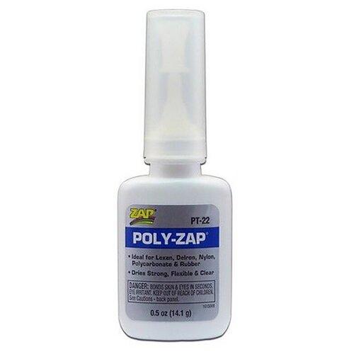 Цианакрилатный клей POLY-ZAP, 14 гр, PACER США, PT-22