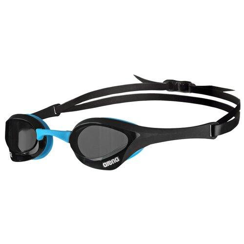 Фото - Очки для плавания arena Cobra Ultra Swipe EU-003929, dark smoke-black-blue очки для плавания arena zoom neoprene 92279 black clear black