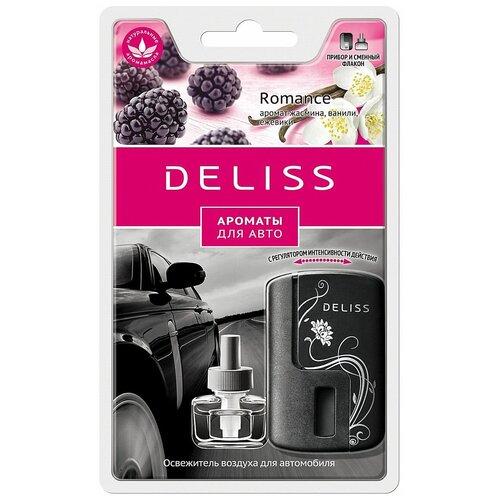 Deliss Ароматизатор для автомобиля, AUTOC008.02/01, Romance 8 мл