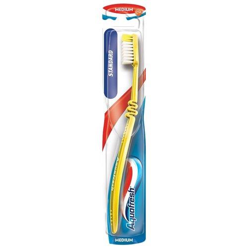 Зубная щетка Aquafresh Standard, желтый