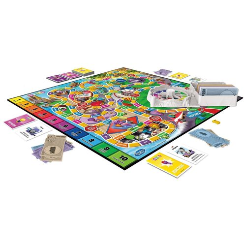 Купить Настольная игра Hasbro Игры Игра в жизнь F0800121, Настольные игры
