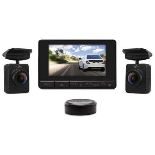 Видеорегистратор GAZER F750w, 2 камеры, черный