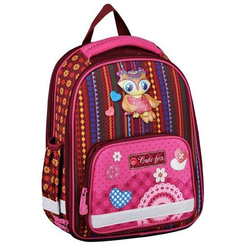 Купить Berlingo ранец Optimal Cute owl, коричневый/розовый, Рюкзаки, ранцы