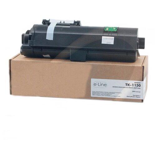 Фото - Тонер-картридж булат e-Line TK-1150 e-line тонер картридж булат s line 71b5hc0 71b0h20 для lexmark cs417 cx417 cx517 голубой 3500 стр универсальный