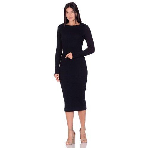 Платье - лапша Perfect look (PM 1901) размер XS (42), темно-синий