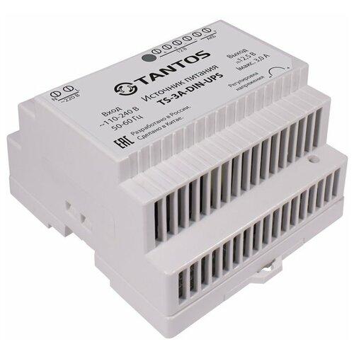 Резервный ИБП TANTOS TS-3A-DIN-UPS белый