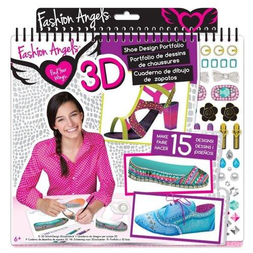 Купить Игровой набор Fashion Angels Потрфолио. 3D дизайн обуви, Поделки и аппликации