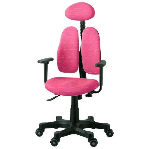 Компьютерное кресло DUOREST DR-7900 детское, обивка: текстиль, цвет: розовый компьютерное кресло rifforma comfort 32 с чехлом детское обивка текстиль цвет розовый