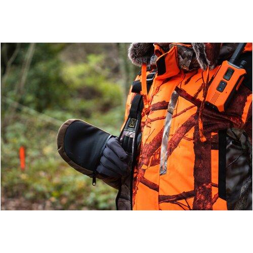 Перчатки-митенки для охоты 900 M/L SOLOGNAC X Декатлон
