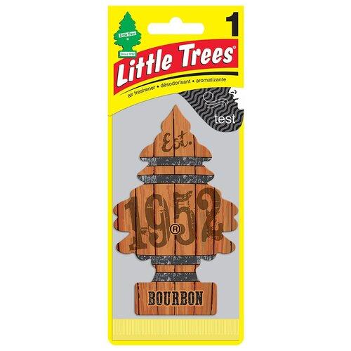 Little Trees Ароматизатор для автомобиля Ёлочка Бурбон (Bourbon) 12 г little trees ароматизатор для автомобиля ёлочка не курить no smoking
