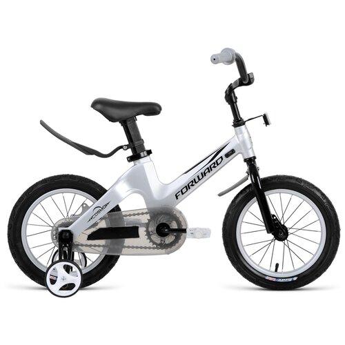 Детский велосипед FORWARD Cosmo 14 (2021) серый (требует финальной сборки)