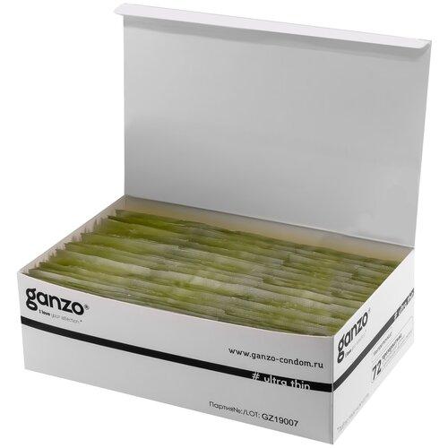 Презервативы Ganzo Ultra Thin, 72 шт. презервативы ganzo ultra thin 72 шт