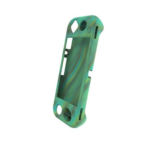 Dobe Защитный силиконовый чехол для консоли Nintendo Switch Lite (TNS-19099) зеленый камуфляж