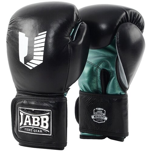Перчатки бокс.(нат.кожа) Jabb JE-4081/US Pro черный 12ун.