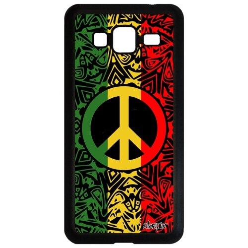 Фото - Чехол на смартфон Samsung Galaxy J3 2016, Peace and Love Символ Рисунок чехол with love moscow w003969sam для samsung galaxy j3 2016 девушка с вином