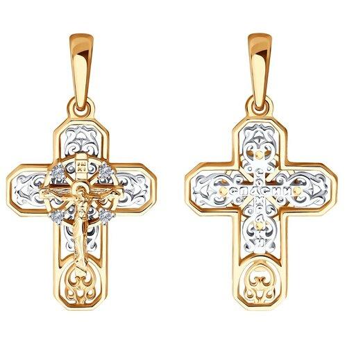 Diamant Подвеска из комбинированного золота с бриллиантами 51-231-01051-1