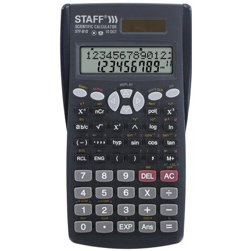 Калькулятор научный STAFF STF-810 черный