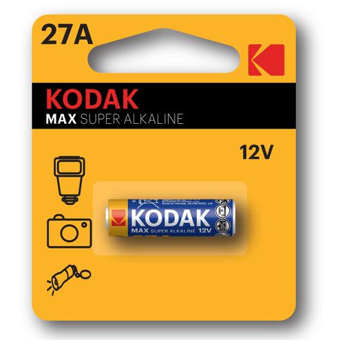 Батарейка Kodak 27A, MN27. Для сигнализаций, брелков дистанционного управления, зажигалки