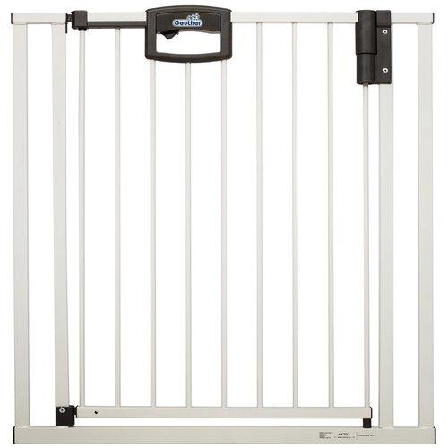 Купить Geuther Ворота безопасности Metal EasyLock Plus, 80.5 - 88.5 см белый, Ворота безопасности, перегородки