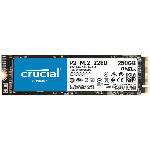Твердотельный накопитель Crucial 250 GB CT250P2SSD8