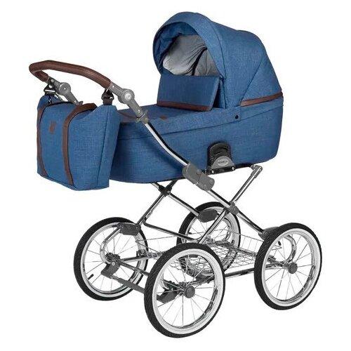 Фото - Универсальная коляска Noordline Nicole Classic (2 в 1), blue/chrome, цвет шасси: серебристый коляски 3 в 1 noordline оlivia sport 3 в 1