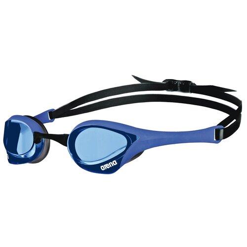 Фото - Очки для плавания arena Cobra Ultra Swipe EU-003929, blue-blue-black очки для плавания arena zoom neoprene 92279 black clear black