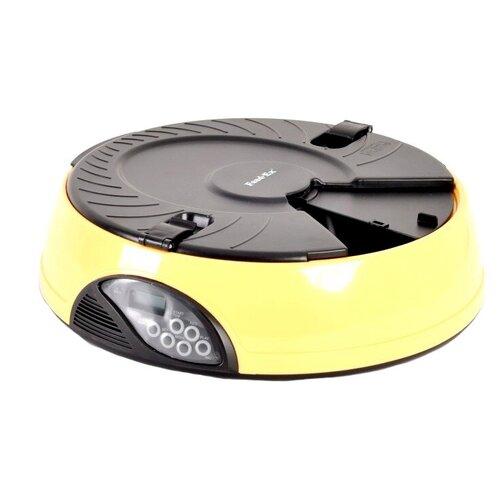 Автокормушка Feed-Ex для кошек и собак PF6 1.5 л желтый/черный по цене 3 433