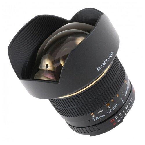 Фото - Объектив Samyang 14mm f/2.8 ED AS IF UMC Canon EF объектив samyang 50mm f 1 4 as umc canon ef
