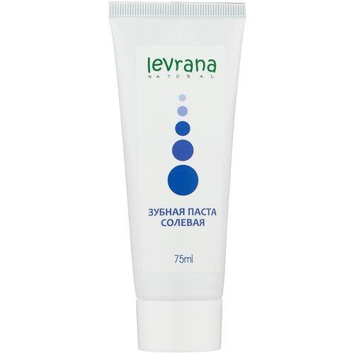 Зубная паста Levrana Солевая, 75 мл паста зубная levrana противокариесная 72 мл