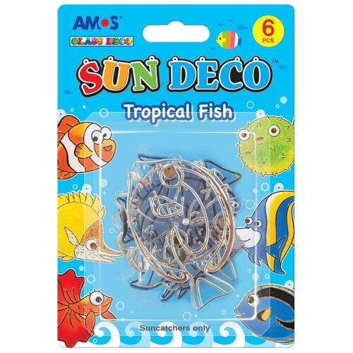 Витраж AMOS Тропические рыбки 23998