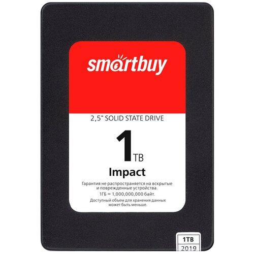 Твердотельный накопитель SmartBuy 1024 GB Impact 1 TB (SBSSD-001TT-PH12-25S3)