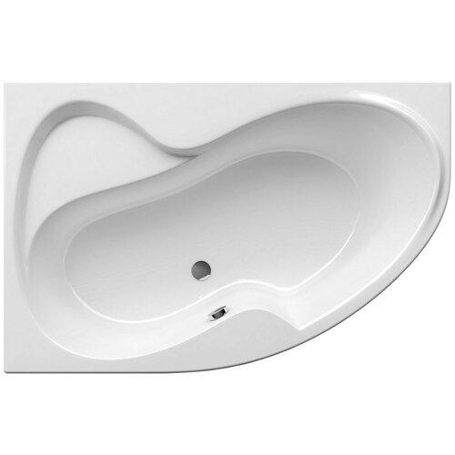 Ванна RAVAK Rosa II 150x105 без гидромассажа акрил угловая левосторонняя ванна ravak asymmetric 150x100 без гидромассажа акрил угловая левосторонняя