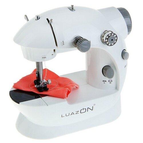 Швейная машинка LuazON LSH-02 5 Вт компактная 4xАА или 220 В белая 1154232