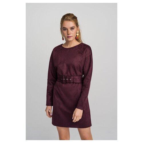 Платье befree 1931581502 женское Цвет Фиолетовый баклажан83 Однотонный р-р 48 L юбка quelle befree 1024253