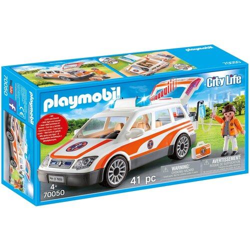 Конструктор Playmobil City Life 70050 Аварийный автомобиль с сиреной