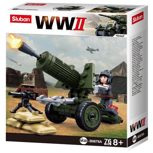 Конструктор SLUBAN WW2 M38-B0678A конструктор sluban ww2 m38 b0682 газ 67