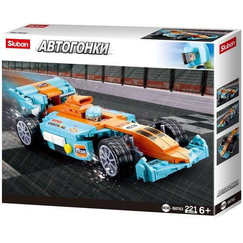 Конструктор SLUBAN Авто Формула 2 M38-B0763 Кольцевые гонки: Спортивный автомобиль