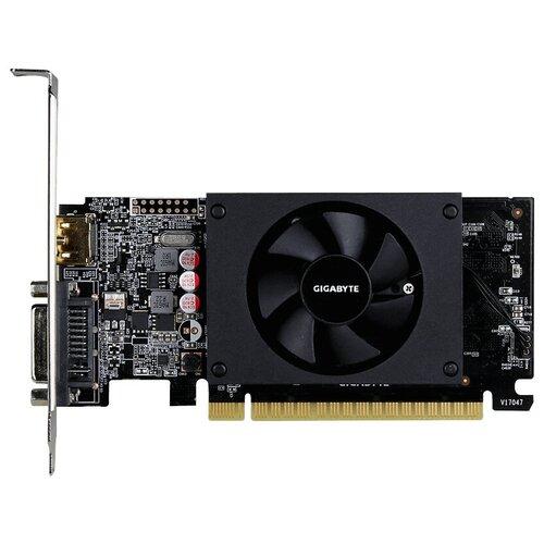 Видеокарта GIGABYTE GeForce GT 710 2GB (GV-N710D5-2GL), Retail
