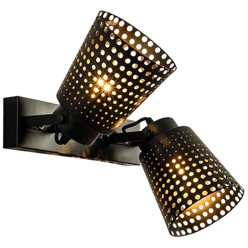 Настенный светильник Lussole Erie LSP-9835, 120 Вт спот lussole erie grlsp 9835 2x10вт e27
