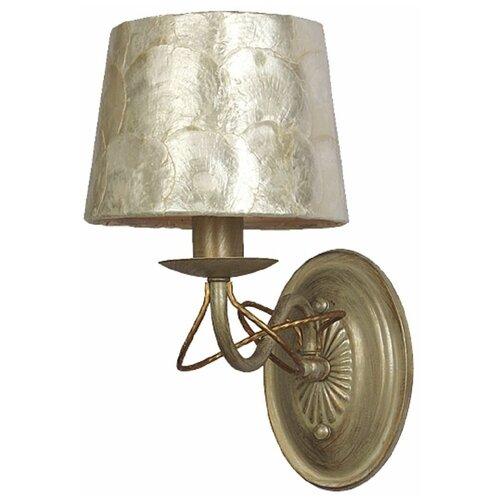Настенный светильник Favourite Cockle 1302-1W, E14, 40 Вт настенный светильник favourite nano 1522 1w 40 вт