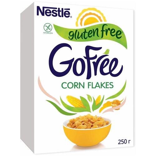 Фото - Готовый завтрак GoFree хлопья кукурузные, коробка, 250 г готовый завтрак tsakiris family лепестки шоколадные коробка 250 г