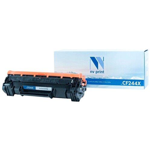 Фото - Картридж NV Print CF244X для HP, совместимый картридж nv print cf400a для hp совместимый