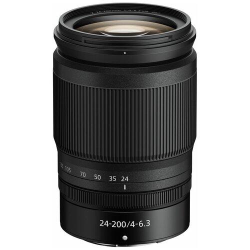 Фото - Объектив Nikon 24-200mm f/4-6.3 VR Nikkor Z черный объектив laowa 15mm f 4 5 zero d shift nikon z черный
